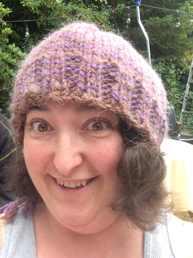 Knit Hat Done