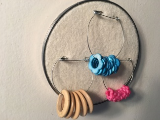 DIY Stitch Marker Display Finished 2