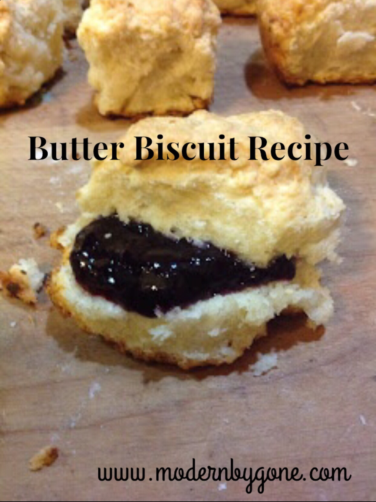 Butter Biscuit Recipe
